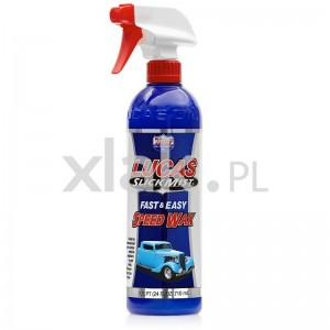 Wosk polimerowy do nabłyszczania LUCAS OIL Slick Mist Speed Wax Spray 710ml