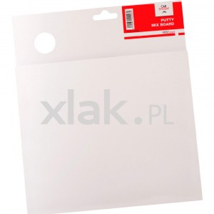 Blok do mieszania szpachli CARSYSTEM Putty Mix Board 26x22cm