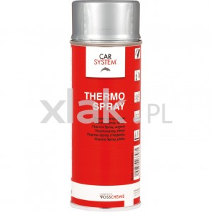 Lakier termoodporny do 600°C CARSYSTEM Thermo-Spray 400ml