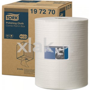 Czyściwo premium TORK 197270 Polishing Cloth do polerwania rolka 152m