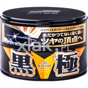 "Wosk hybrydowy SOFT99 Extreme Gloss ""The Kiwami"" Dark 200g"